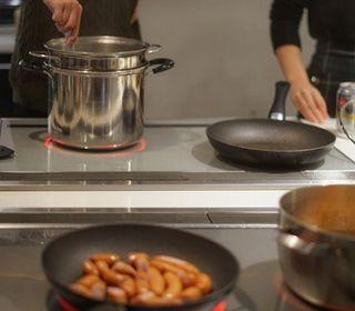 信州産食材にこだわった 釜焼きやグリルメニューを調理して頂きます。
